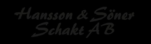Välkommen till Hansson & Söner Schakt AB - Entreprenad i Nässjö